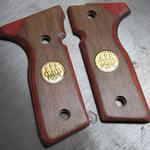8000, cocobolo/walnut, gold medallions